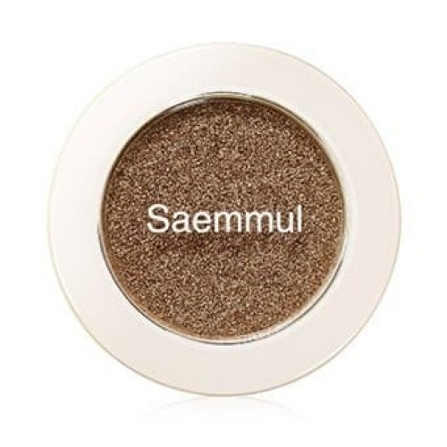 Тени для век мерцающие The Saem Saemmul Single Shadow (Shimmer) YE01, 2 гр.