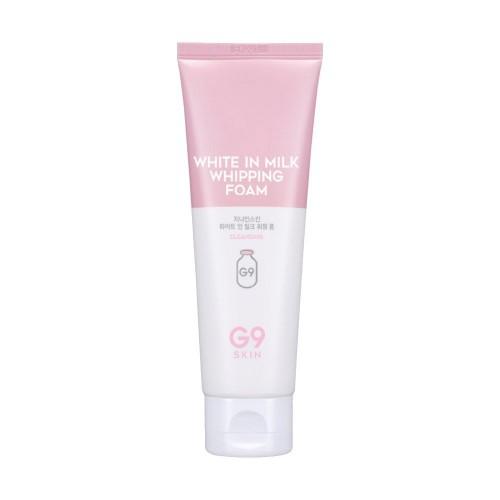 Пенка для умывания осветляющая G9SKIN White In Milk Whipping Foam, 120 мл