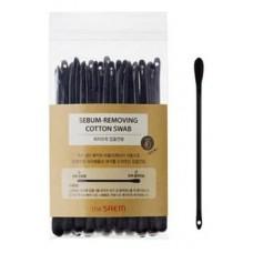 Ватные палочки набор для очистки пор The Saem Sebum-removing Cotton Swab, 40 шт.