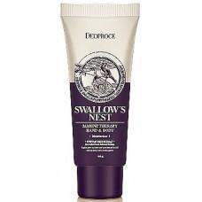 Крем для тела и рук Deoproce Hand & Body Swallow's Nest, с экстрактом ласточкиного гнезда, 100 мл