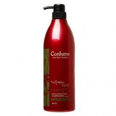 Шампунь для волос Welcos Confume Total Hair Shampoo c касторовым маслом, 950 мл