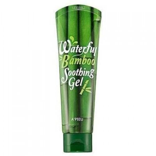 Увлажняющий гель для лица A'Pieu Waterfull Bamboo Soothing Gel с экстрактом бамбука, 145 мл