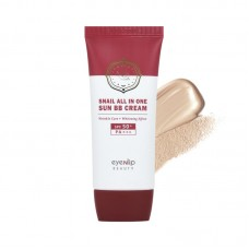 BB крем Eyenlip Snail All In One Sun BB Cream 21 Light Beige с муцином улитки, 50 мл.