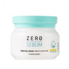 Гель-крем для жирной кожи матирующий Etude House Zero Sebum Fresh Gel Cream, 60 мл