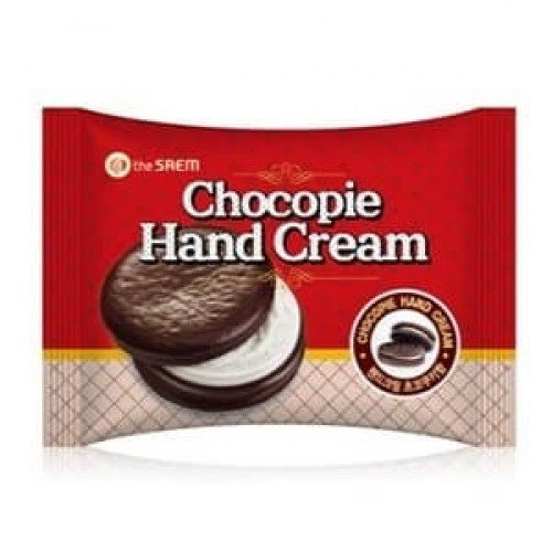 Крем для рук The Saem Chocopie Hand Cream Cookies & Cream, 35 мл
