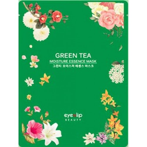 Тканевая маска для лица Eyenlip Green Tea Oil Moisture Essence Mask, 25 мл
