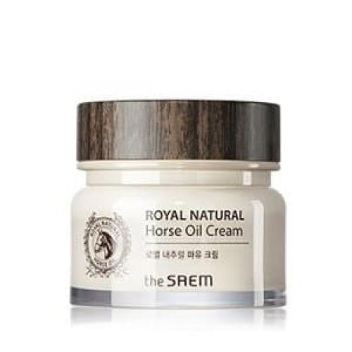 Крем для лица The Saem Royal Natural Horse Oil Cream, 100 мл