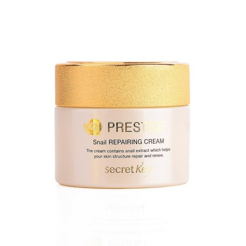 Крем для лица Secret Key Prestige Snail Repairing Cream с муцином улитки, 50 мл