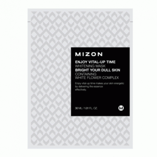 Тканевая маска для лица Mizon Enjoy Vital-Up Time Whitening Mask, 30 мл
