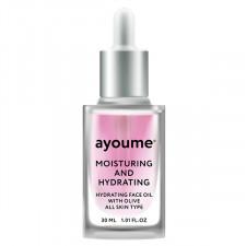 Увлажняющее масло для лица AYOUME Moisturing-&-Hydrating Face Oil with Olive, 30 мл