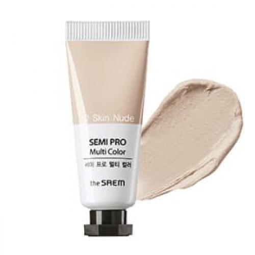 Универсальный цветной пигмент The Saem Semi Pro Multi Color 10 Skin Nude, 5 мл