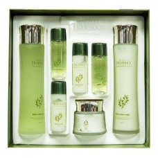 Подарочный набор Premium Deoproce Olivetherapy Essential Moisture Skin Care Set с экстрактом оливы