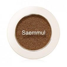 Тени для век мерцающие The Saem Saemmul Single Shadow (Shimmer) BR07, 2 гр.