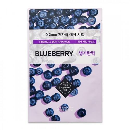 Тканевая маска для лица Etude House Therapy Air Mask Blue Berry, 20 мл