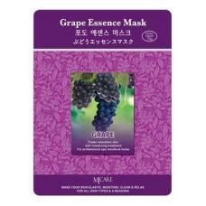Тканевая маска для лица Mijin Grape Essence Mask, виноград, 23 гр.