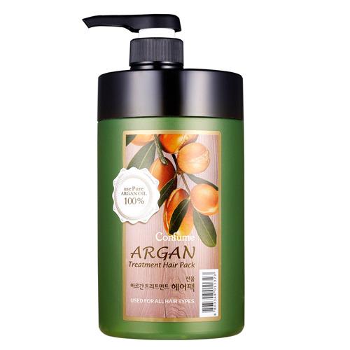 Маска для волос Welcos Confume Argan Treatment Hair Pack с аргановым маслом, 1000 гр.