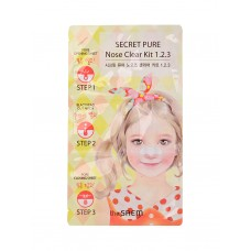 Пластырь для удаления черных точек The Saem Secret Pure Nose Clear Kit, 3 шт.