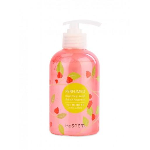 Гель-мыло для рук жидкое The Saem Perfumed Hand Clean Wash French Raspberry, 300 мл
