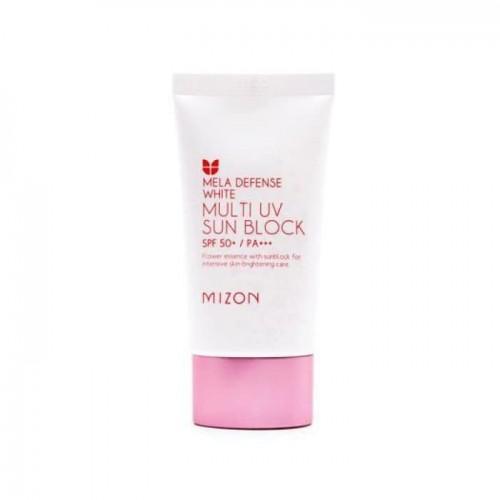 Осветляющий солнцезащитный крем для лица Mizon Mela Defense White Multi UV Sun Block SPF50, 40 мл