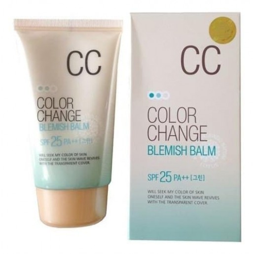 СС крем Lotus Color Change Blemish Balm SPF25 PA+++, 50 мл