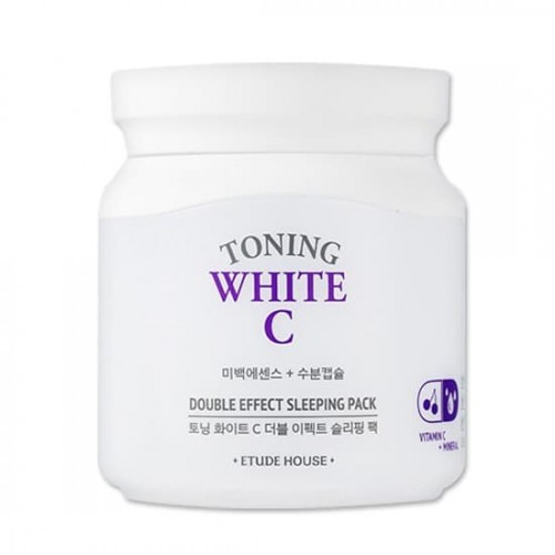 Осветляющая маска для лица Etude House Toning White C Double Effect Sleeping Pack, 100 мл