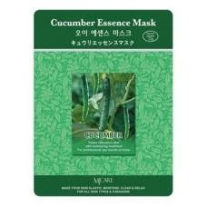Маска тканевая огурец Cucumber Essence Mask, 23 гр.