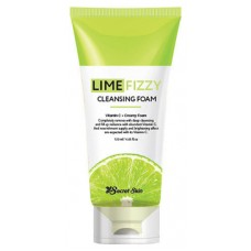 Пенка для лица Secret Skin Lime Fizzy Cleansing Foam, 150 мл.