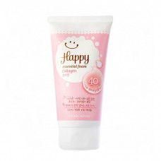 Пенка для умывания Etude House Happy Essential Cleansing Foam - Collagen, 150 мл