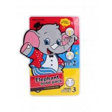 Маска против черных точек Baviphat 3-step Elephant Nose Pack, 3 мл