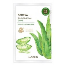 Тканевая маска для лица The Saem Natural Skin Fit Mask Sheet Aloe, 20 мл