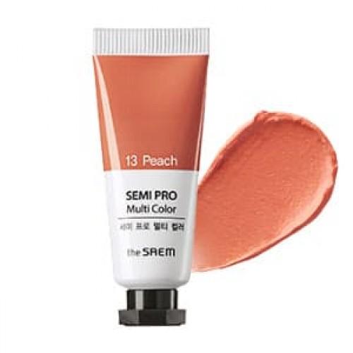 Универсальный цветной пигмент The Saem Semi Pro Multi Color 13 Peach, 5 мл