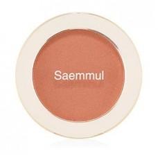 Румяна The Saem Saemmul Single Blusher BE02 Flash Beige, 5 гр.