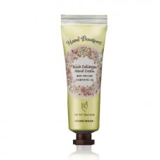 Крем для рук Etude House Hand Bouguet Rich Collagen Hand Cream, с коллагеном, 50 мл.