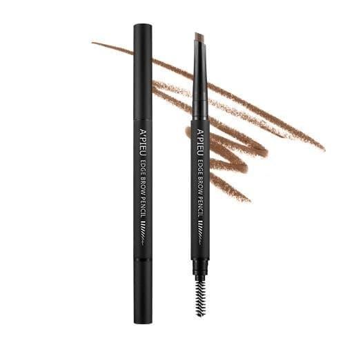 Карандаш для бровей автоматический A'Pieu Edge Brow Pencil Medium Brown, 0.35 гр.