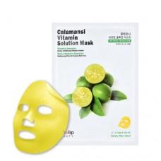 Витаминная тканевая маска для лица Eyenlip Calamansi Vitamin Solution Mask, 25 мл