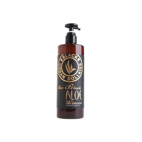 Гель-мист для тела Urban Dollkiss The Black Aloe Soothing Gel Mist с 98% экстрактом алоэ, 500 мл