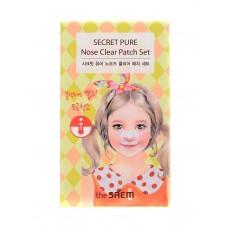 Набор пластырей против акне The Saem Secret Pure Nose Clear Patch Set, 8 шт.