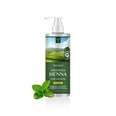 Шампунь для волос Deoproce Green Tea Henna Pure Refresh Shampoo с зеленым чаем и хной, 1000 мл