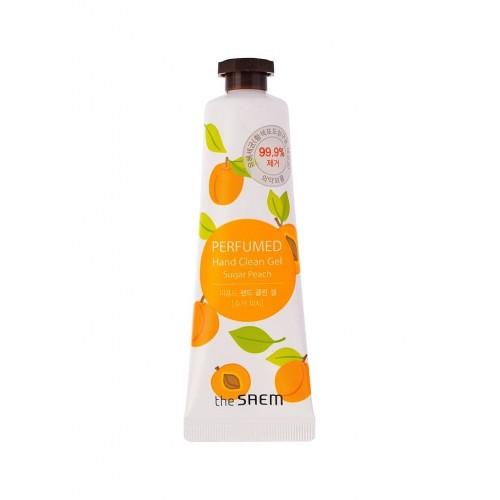 Крем-гель для рук The Saem Perfumed Hand Clean Gel Sugar Peach, 30 мл