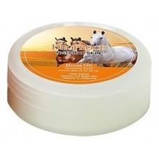 Крем для лица и тела Deoproce Natural Skin Horse Oil Nourishing Cream, на основе лошадиного жира, 100 гр.
