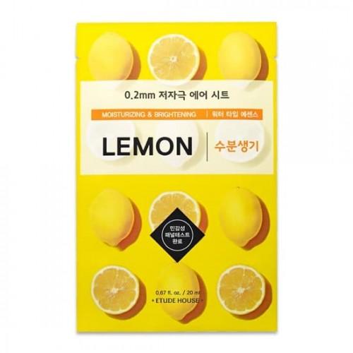 Тканевая маска для лица Etude House Therapy Air Mask Lemon, 20 мл