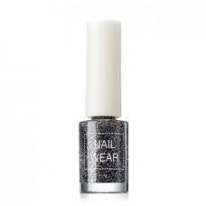 Лак для ногтей The Saem Nail Wear 75 Dote Black, 7 мл.