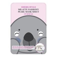Тканевая маска для лица Milatte Fashiony Pearl Mask Sheet с экстрактом жемчуга, 21 гр.
