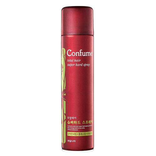 Лак для волос сильной фиксации Welcos Confume Total Hair Super Hard Spray, 300 мл