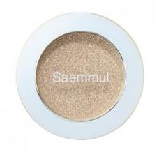 Тени для век кремовые The Saem Saemmul Single Shadow (Paste) WH01 Sparkling Dew, 1,8 гр.