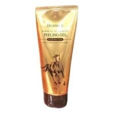 Пилинг-гель для лица Deoproce Horse Oil Hyalurone Peeling Gel с гиалуроновой кислотой и лошадиным жиром, 170 гр.