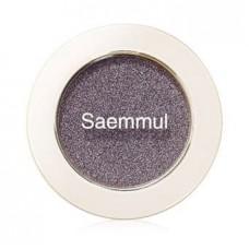 Тени для век мерцающие The Saem Saemmul Single Shadow (Shimmer) BK02, 2 гр.