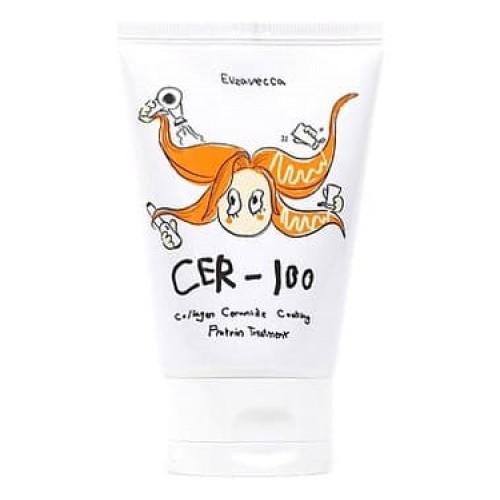 Маска для волос Elizavecca CER-100 Collagen Ceramid Coating Protein Treatment, 100 мл
