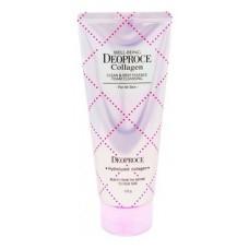 Пенка для умывания Deoproce Well-being Collagen Clean & Deep Essence Foam Cleansing с коллагеном, 170 гр.