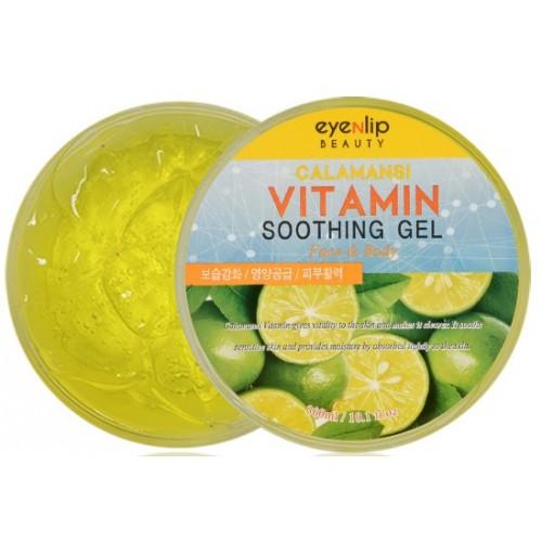 Универсальный успокаивающий гель-щербет для тела Eyenlip Calamansi Vitamin Soothing Gel, 300 мл